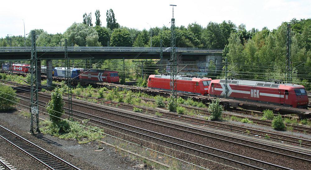 Bunte Bahnwelt @ Hamburg-Wilhelmsburg