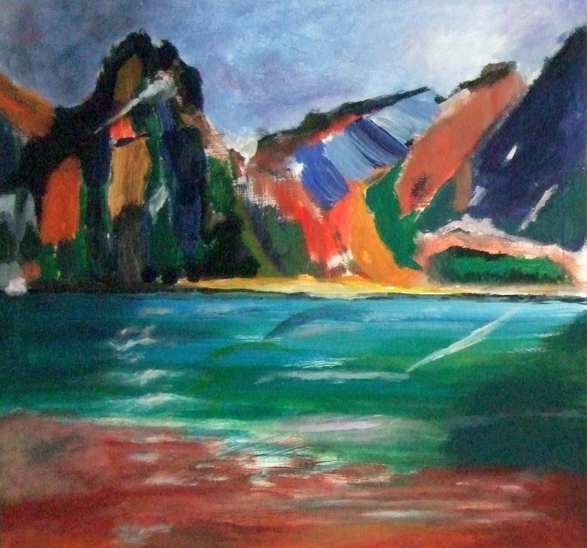 Bunte Berge und Mee(h)r