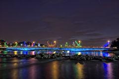 bunte Brücke