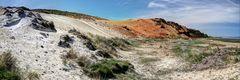 Bunte Geologie in Morsum