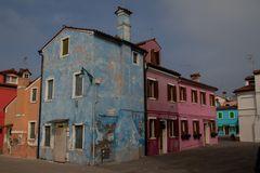 Bunte Häuser Burano