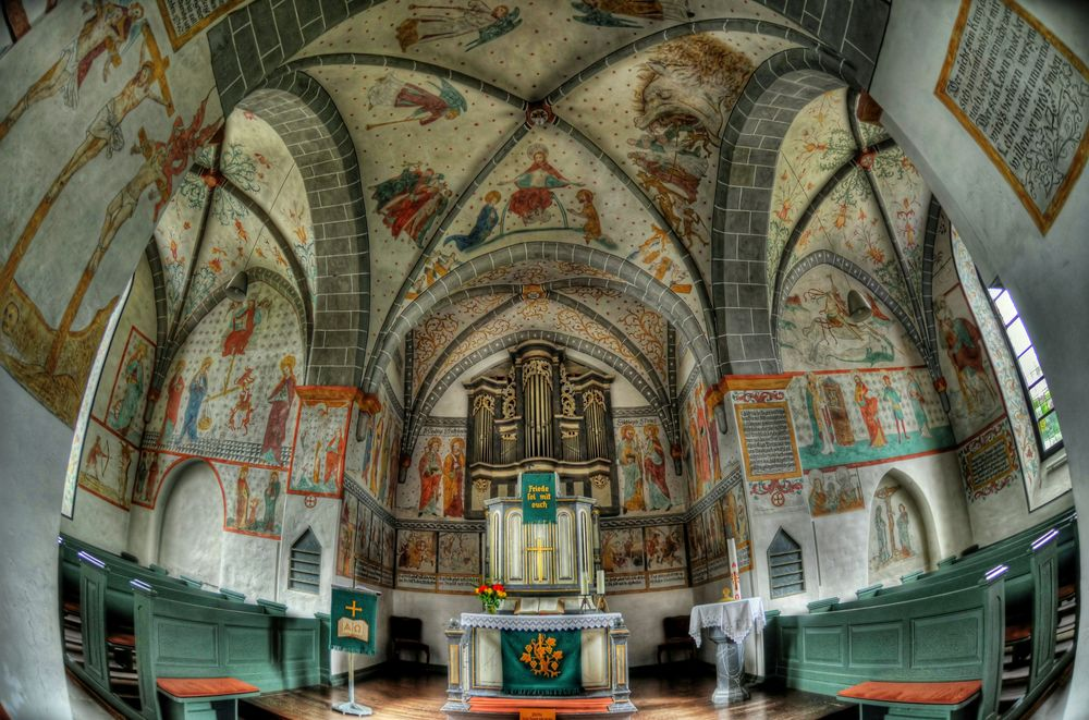 Bunte Kirchen 5 / Lieberhausen .