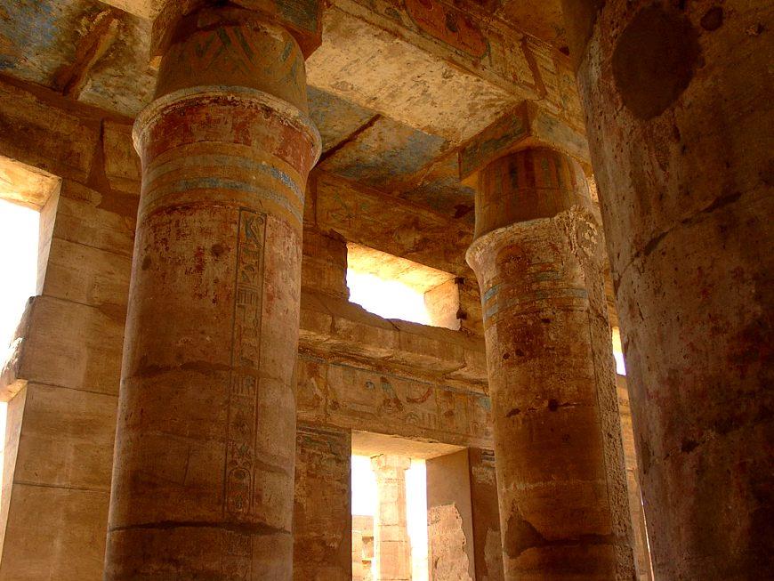 Bunte Säulen