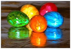 Bunte (Spiegel)Eier
