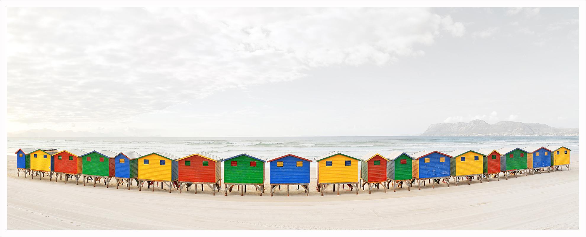 Bunte Strandhäuser *reloaded*