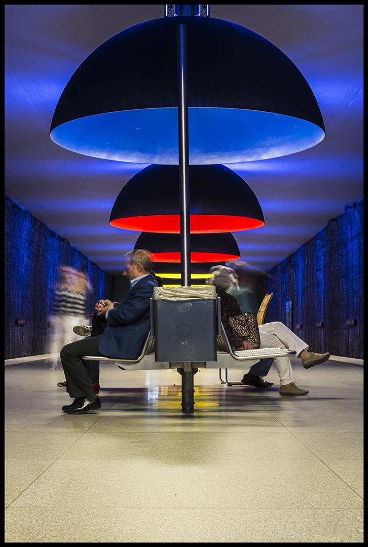 Bunte U-Bahn