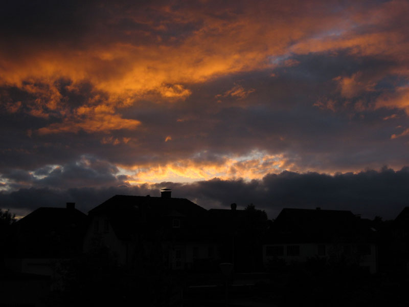 Bunte Wolken