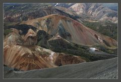 bunter Berg Brennisteinsalda (Fjallabak N.P.)
