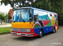 Bunter Camper - Setra S80