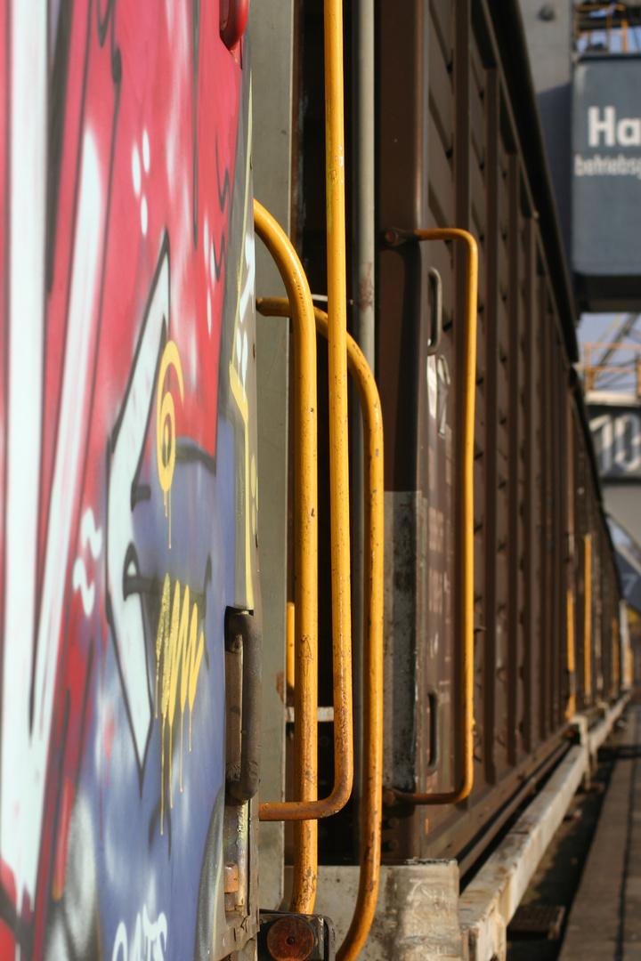 Bunter Güterzug