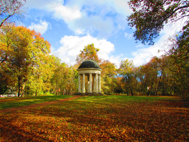 Bunter Herbst in Dessau