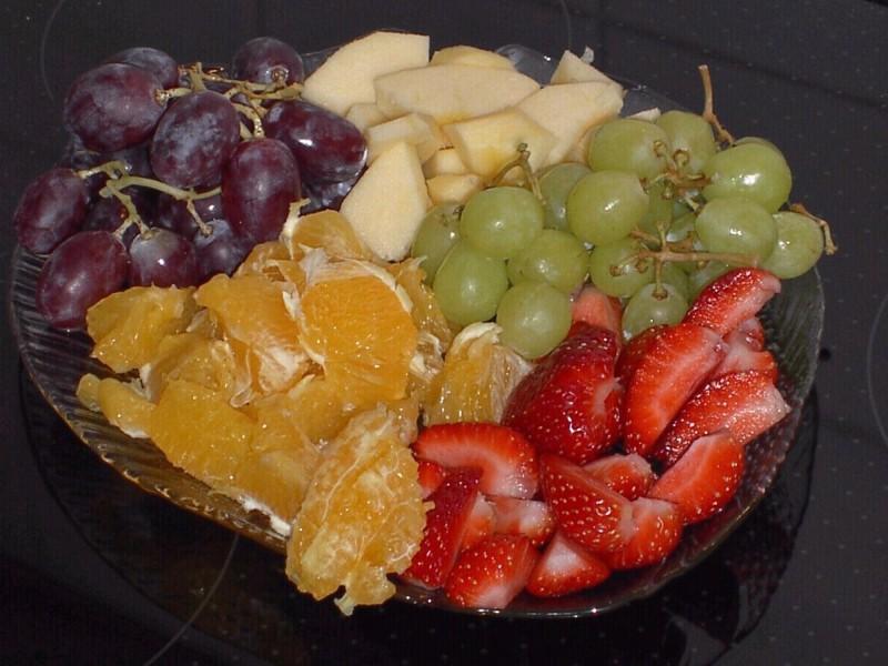 Bunter Obstteller
