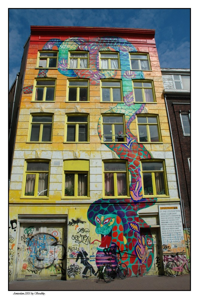 Buntes Amsterdam