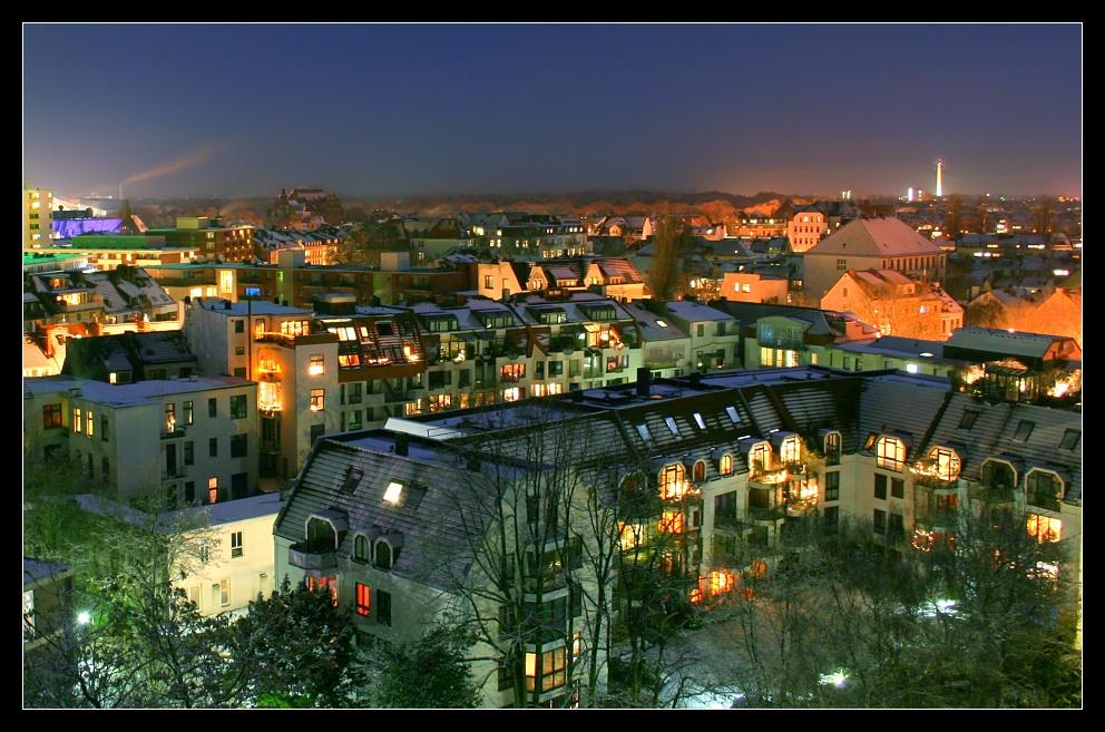 Buntes Bremen im Winter
