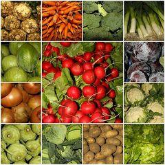 Buntes Gemüseallerlei
