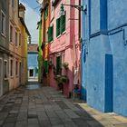 Burano- Fischerinsel - Venedig -