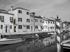 Burano Teilcoloriert