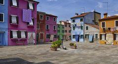 Burano  - Venedigs kleine Schwester -