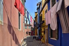 BURANO  Waschtag
