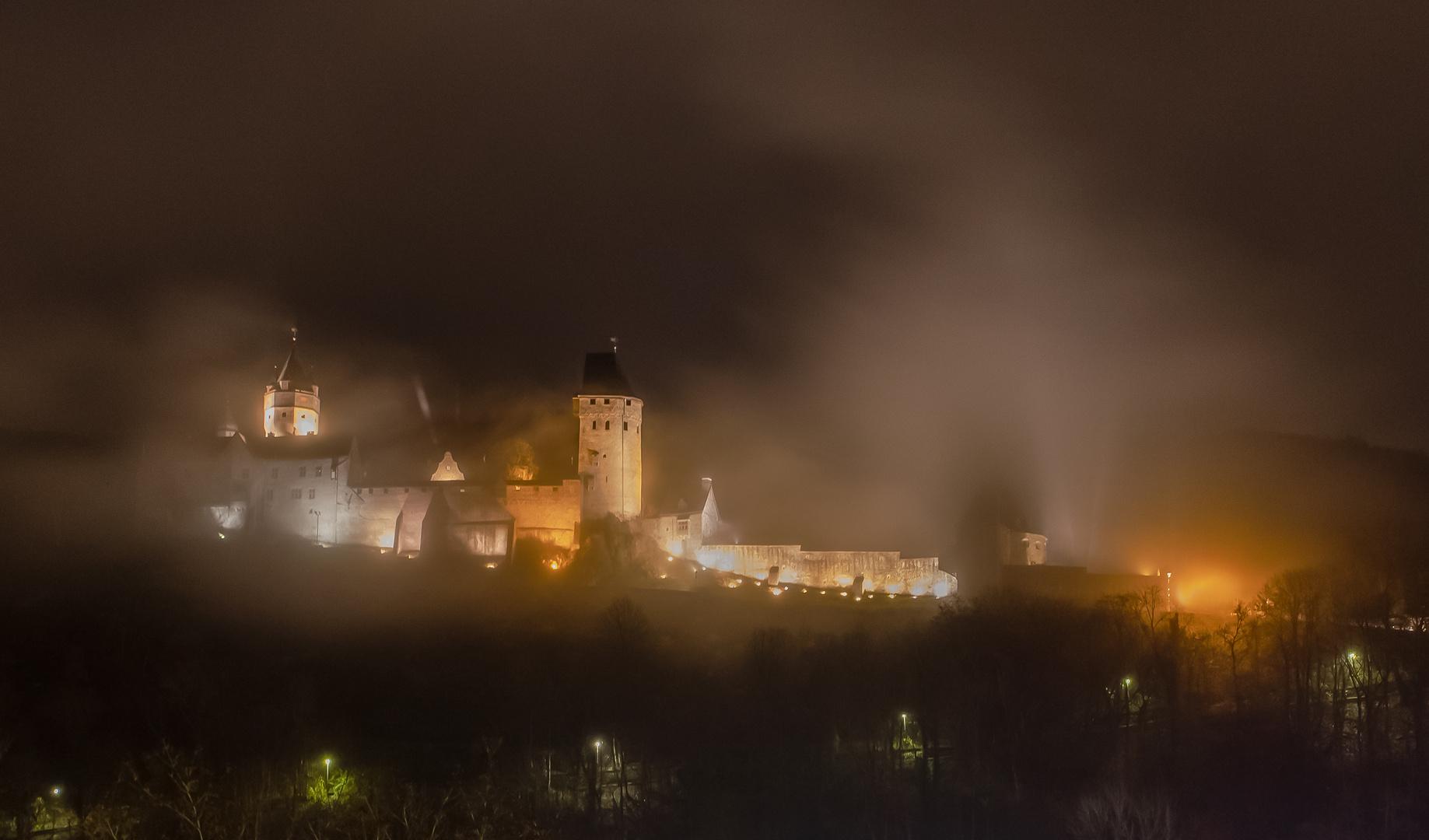 Burg Altena im Nebel / Altena Castle in the fog