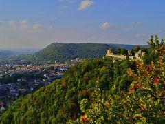 Burg, Berg, Tal
