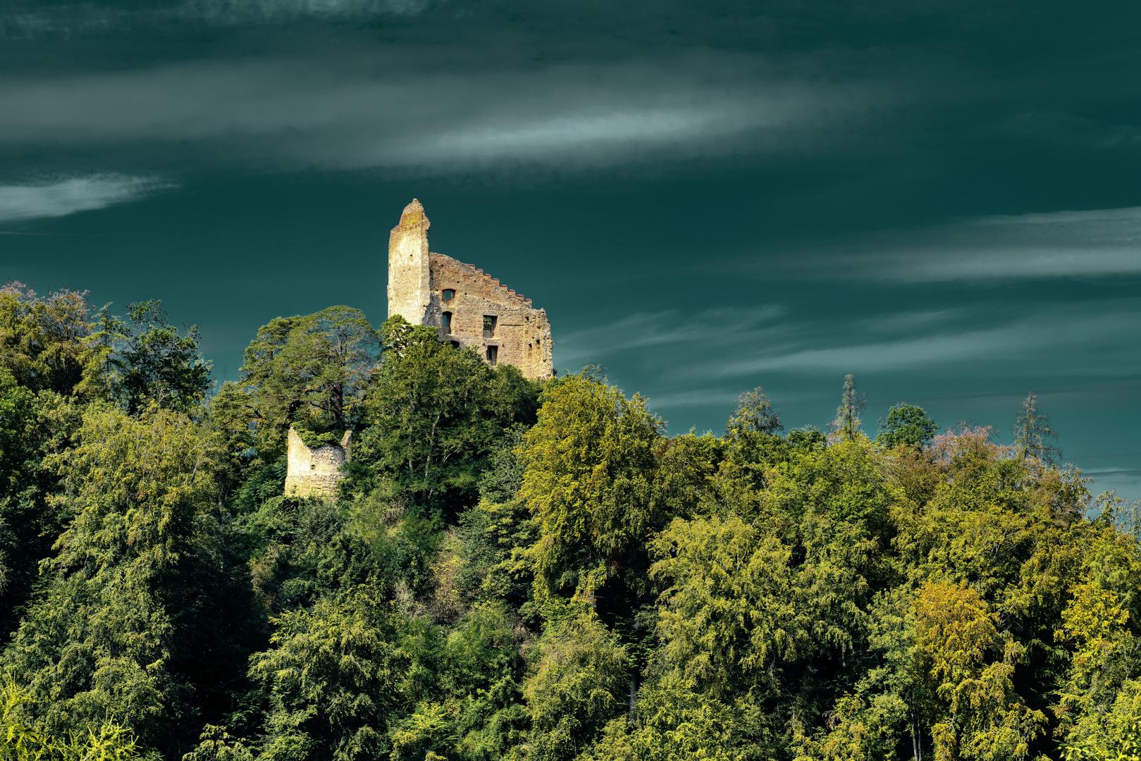 Burg Bodman ...