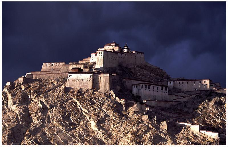 Burg Dzong, in Tibet