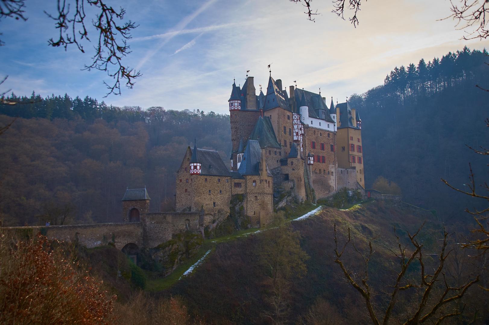 Burg Eltz im Februar