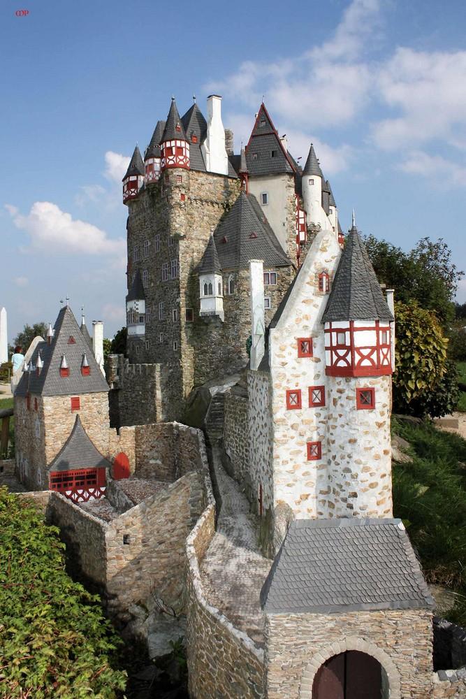 Burg Eltz - Modell 1:25