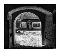 Burg Falkenstein... in s/w