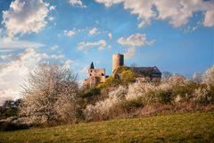 Burg Gleiberg im Frühling