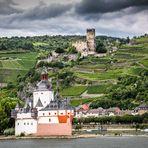 Burg Gutenfels am Rhein