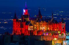 Burg Hohenzollern....