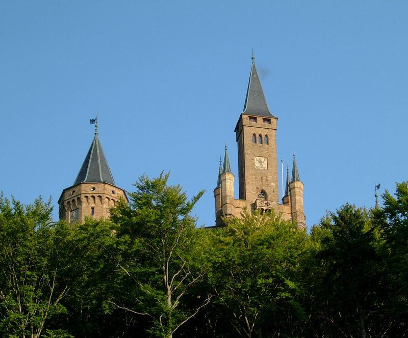 Burg Hohenzollern - etwas näher