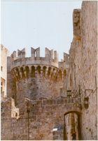 Burg in Rhodos