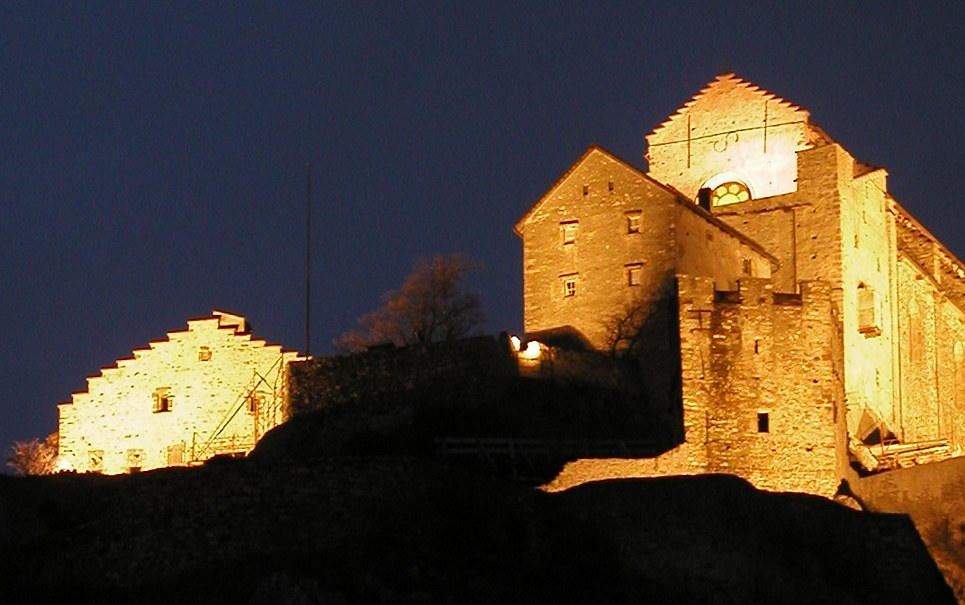 Burg in Sion
