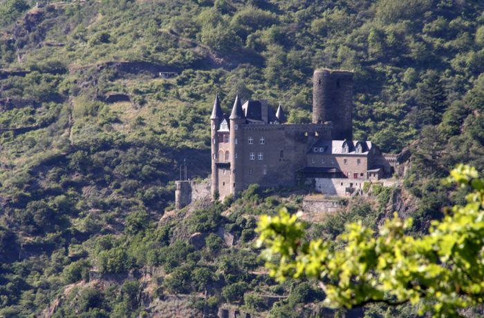 Burg Katz in Goarshausen am Mittelrhein