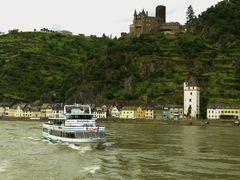 Burg Katz über St.Goarshausen