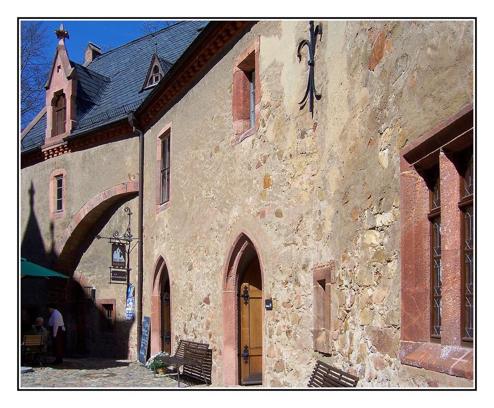 Burg Kriebstein-------im Burghof