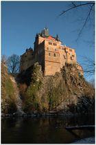 Burg Kriebstein im Winterschlaf