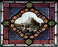 Burg Lahneck - Fensterbild