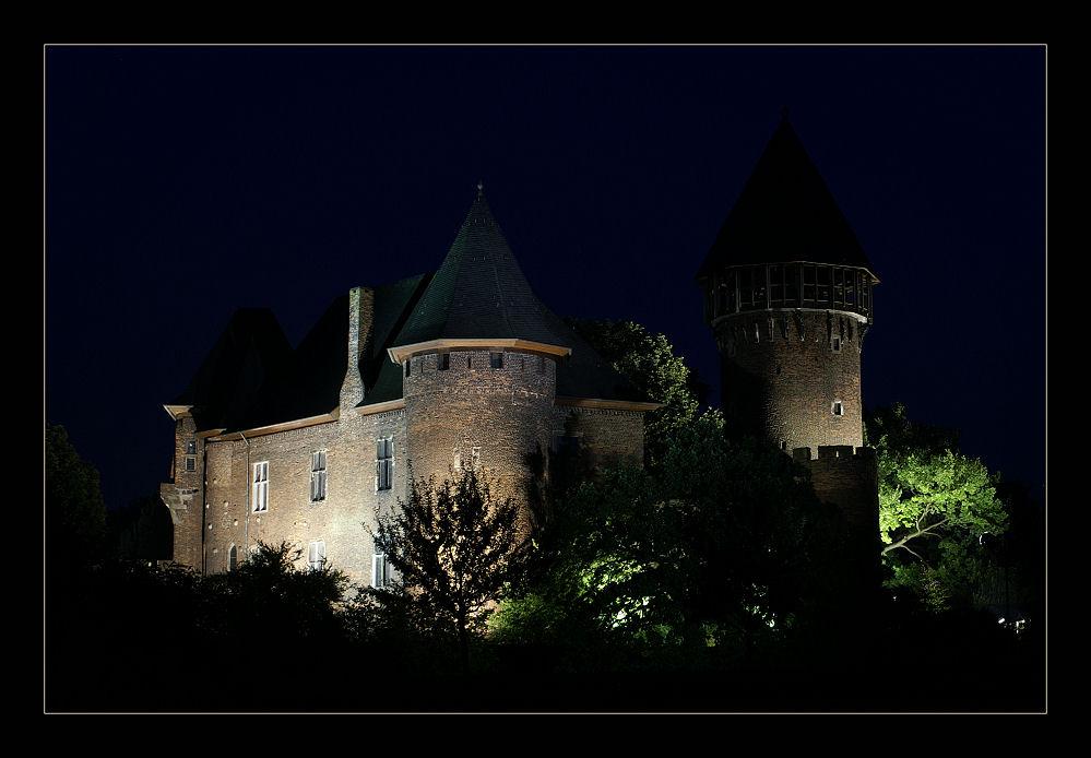 Burg Linn at Night