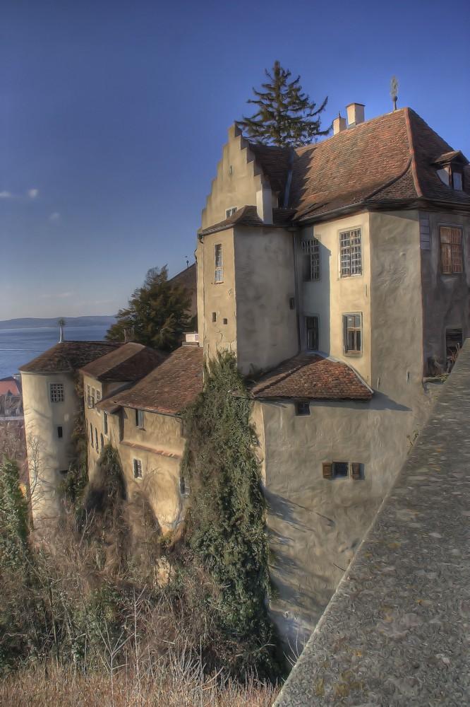 Burg Meersburg Ostseite