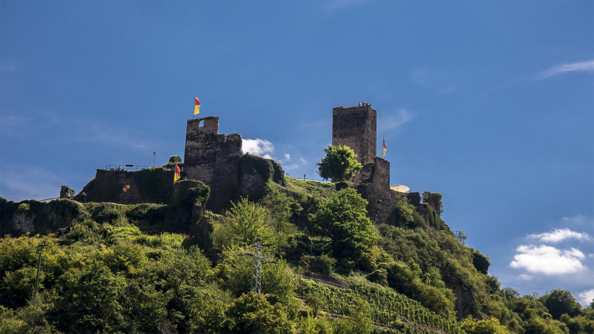 Burg Metternich Beilstein/Mosel Foto & Bild | reise, mosel