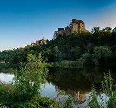 Burg Mildenstein in der Abendsonne (1)