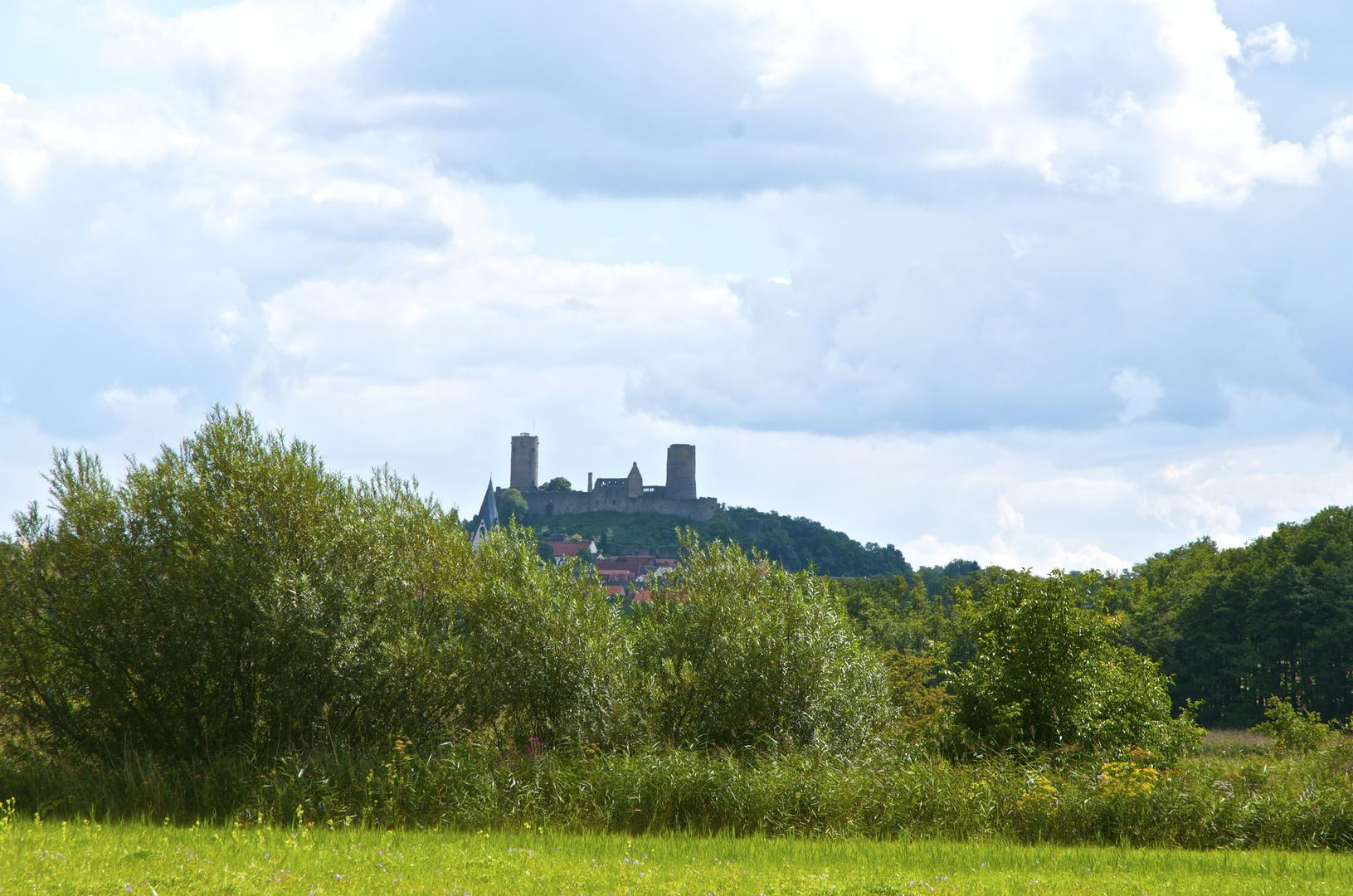 Burg Münzenberg bei Butzbach im Wetteraukreis