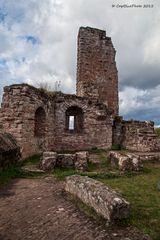 Burg Neudahn ganz nah