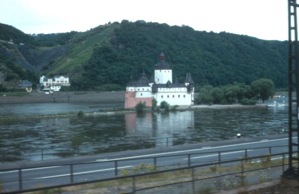 Burg Pfalzgrafenstein bei Kaub 1979