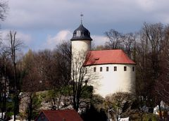 Burg Rabenstein - die kleinste Burg Sachsens