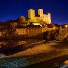 Burg Runkel in der blauen Stunde - C1-D85_3031